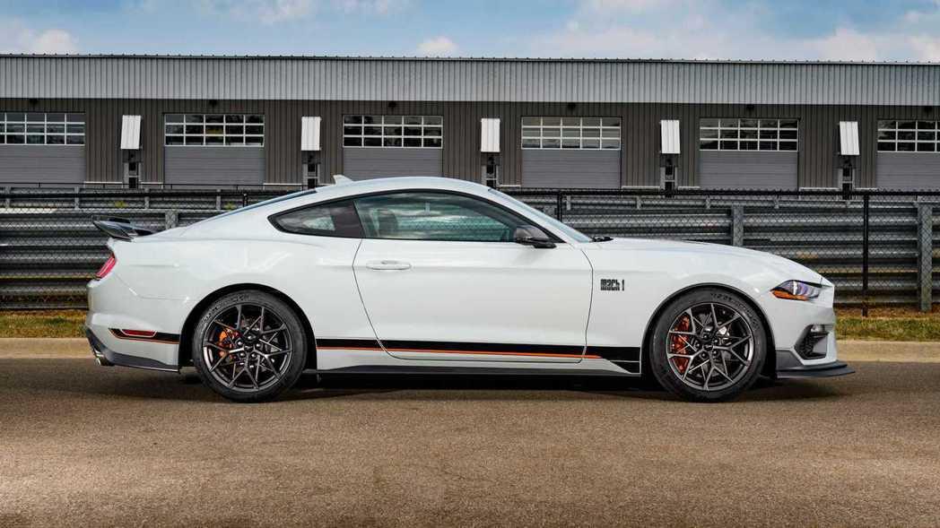 Mustang Mach 1在車體的空氣力學下了很大功夫。 摘自Ford