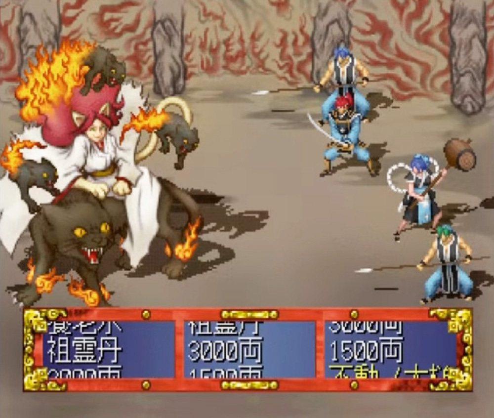 本作的戰鬥一開始都會有個類似吃角子老虎的輪盤,這代表你這場戰鬥會得到怎樣的戰利品...