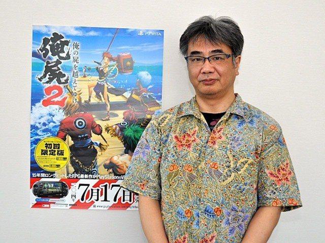 桝田省治先生本人照。