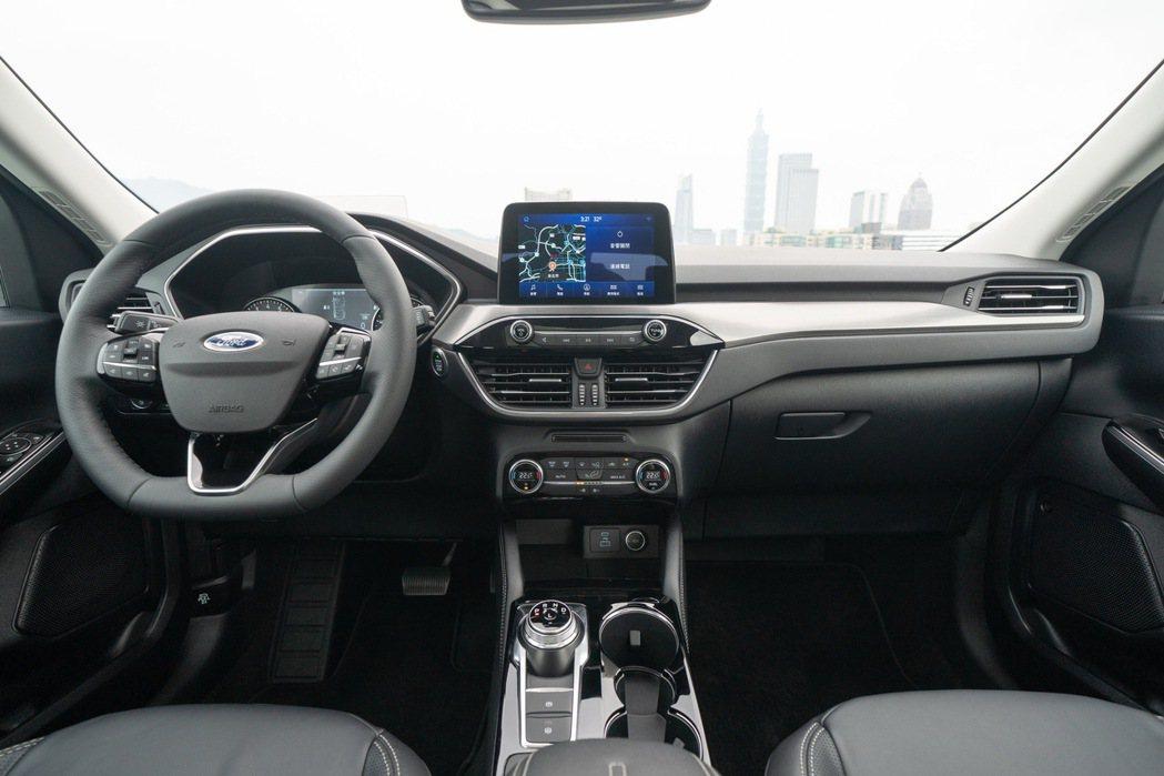 全新Ford Kuga以人為出發點的設計,打造全新內裝設計布局。 圖/福特六和提...
