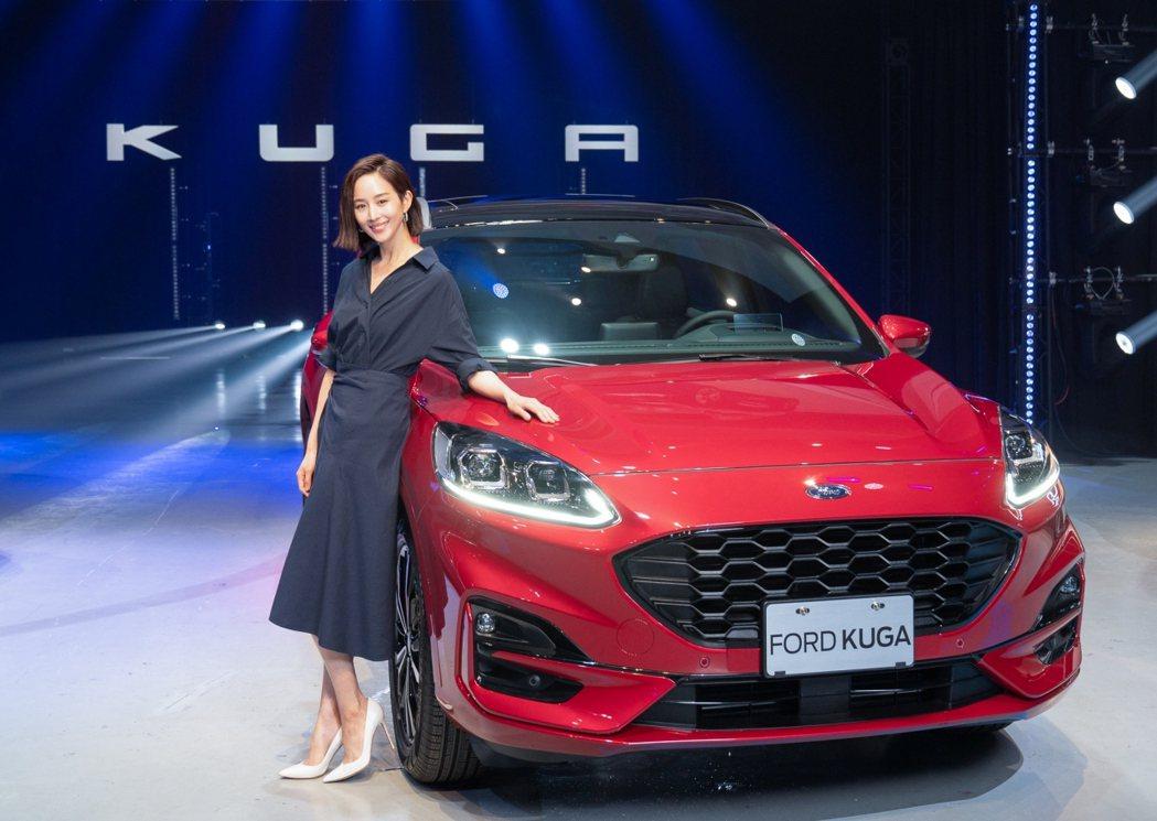 氣質女神張鈞甯擔任The All-New Ford Kuga廣告代言人,打動年輕...