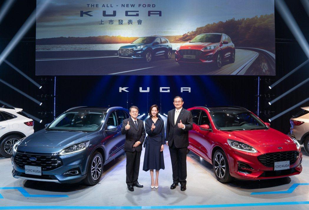 全新Ford Kuga繳出亮眼成績。 圖/福特六和提供