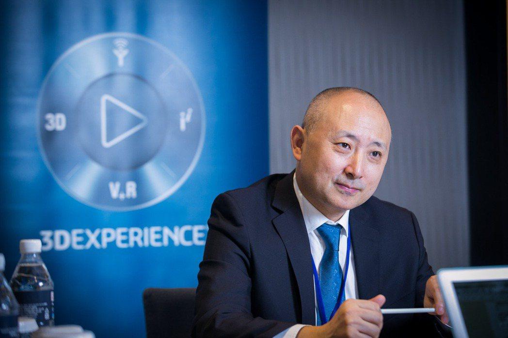 達梭系統(Dassault Systèmes)大中華區總裁張鷹帶領的團隊,近年協...