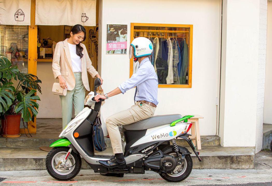 WeMo Scooter 提供的共享電動機車服務,營運範圍目前涵蓋台北、新北與高...