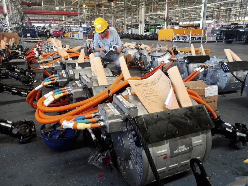 美國5月工業生產指數回彈1.4%,顯示產業景氣開始緩步回穩。美聯社
