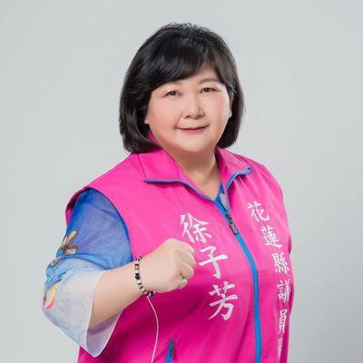 徐子芳遞補蔡啟塔議員職缺,將於19日宣誓就職。圖/翻攝徐子芳臉書