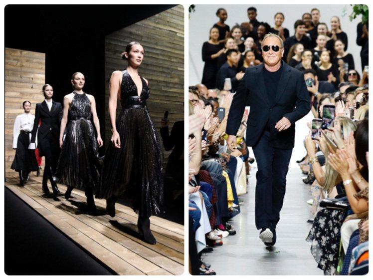 設計師Michael Kors宣布今年9月紐約時裝周取消大秀發表。圖/MICHA...