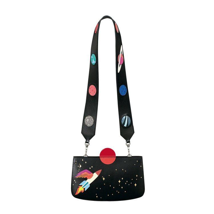 Sac à Malice Space系列小牛皮包, 67萬6,700元。圖/愛馬...