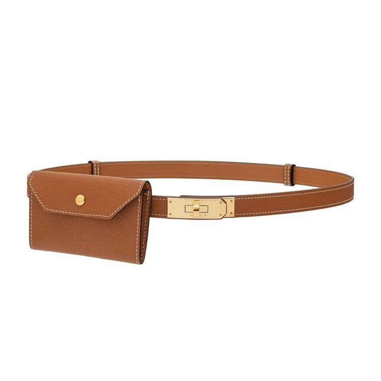 Kelly 18 Pocket 系列腰帶,43,600元。圖/愛馬仕提供