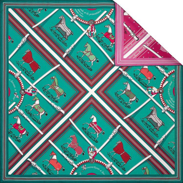 Silkit系列絲巾袋配件,29,400元。圖/愛馬仕提供