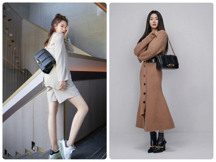 Alexander McQUEEN品牌大使全智賢和大陸女星戚薇詮釋春夏Story...