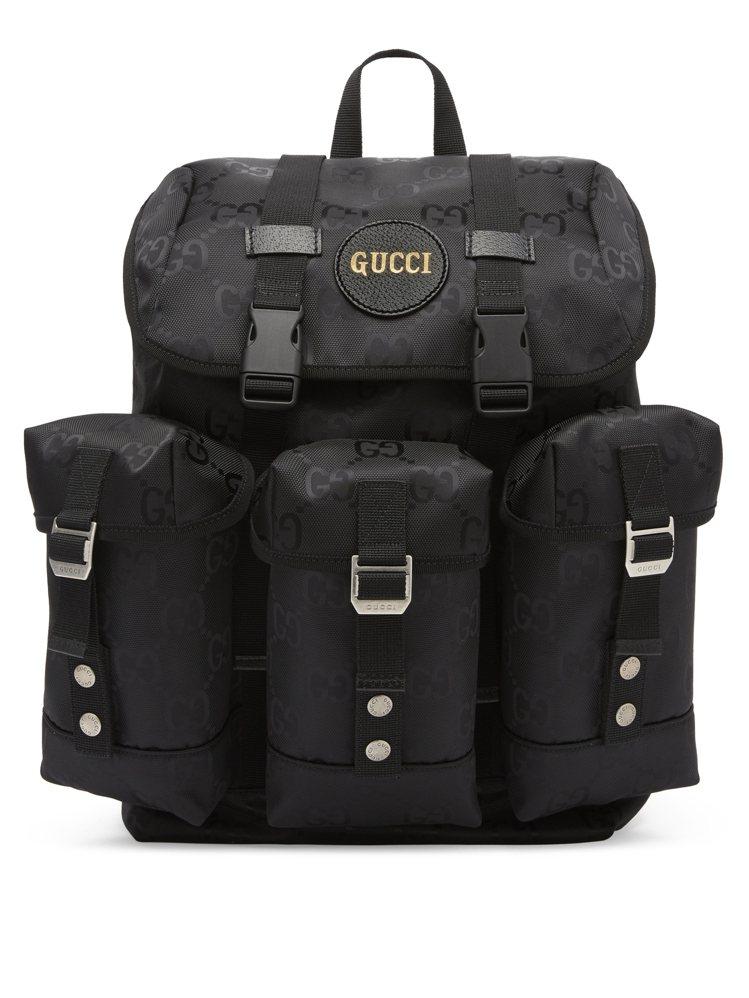 OFF THE GRID系列多功能小型後背包,68,900元。圖/GUCCI提供