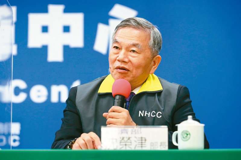 行政院副院長副由經濟部長沈榮津接任,他在防疫過程推動「口罩國家隊」立大功。圖/聯合報系資料照片