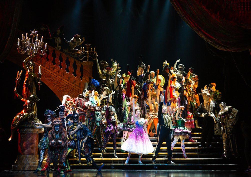 「歌劇魅影」四度來台,將於11月底抵達台灣。圖/寬宏藝術提供