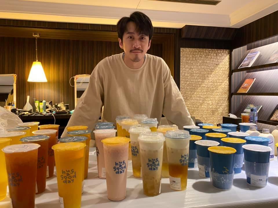 陳漢典所投資的飲料店。 圖/擷自陳漢典臉書
