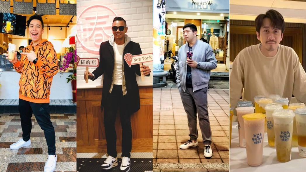 許多名人紛紛以自身光環加持開設飲料店。 圖/擷自臉書