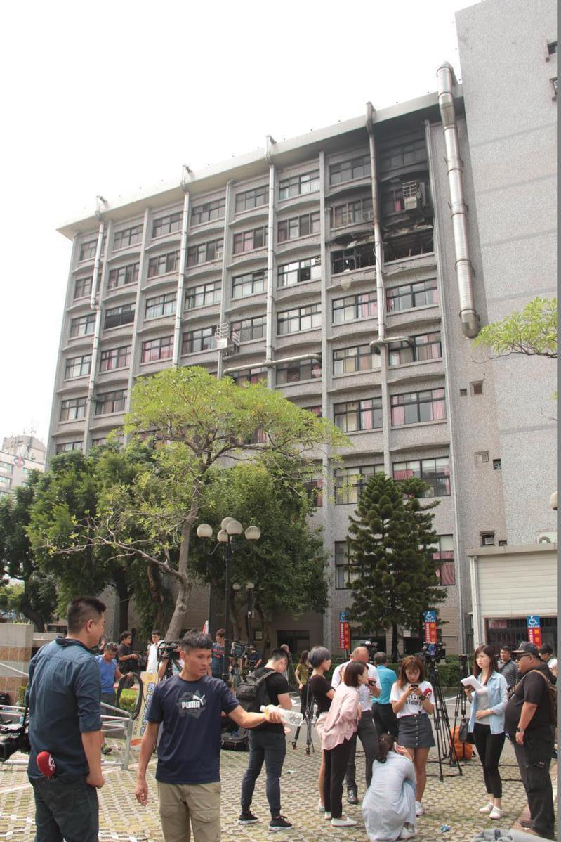 台北醫院前年8月大火,釀15死14傷慘劇。本報資料照片