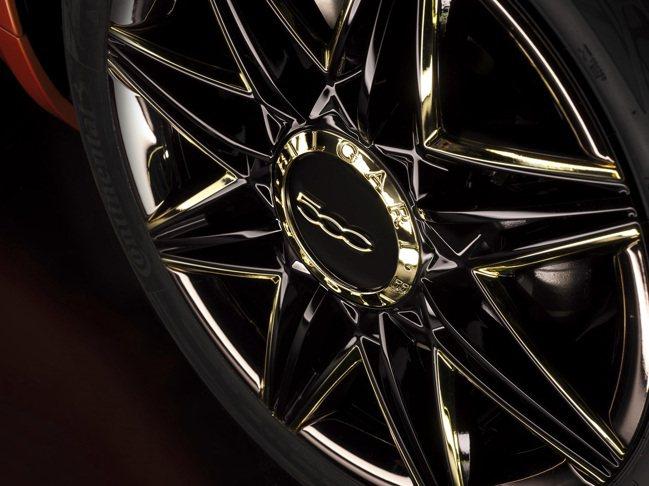B.500 By BVLGARI輪圈金色光芒來自寶格麗八芒星圖騰。 圖/寶格麗提...
