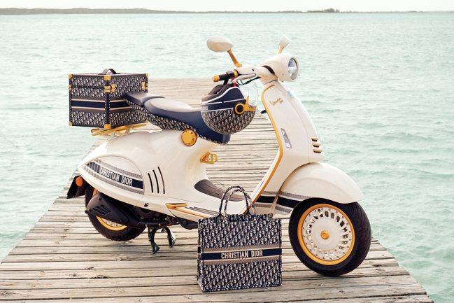 VESPA 946 Christian Dior將以限量方式在2021年春季登場...