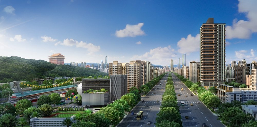 劍潭士林一帶生活機能完善,以市場的角度來看,「圓山帝寶」是該區域最新的豪宅指標案...