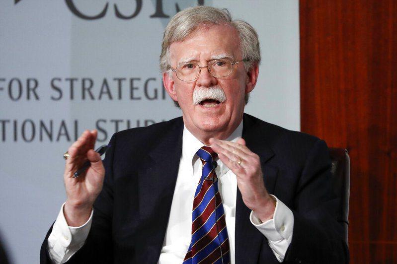美前國安顧問波頓(John Bolton)。 圖/美聯社