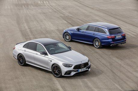 不讓BMW M5搶走鋒頭 小改款Mercedes-AMG E 63 4MATIC+強勢登場!