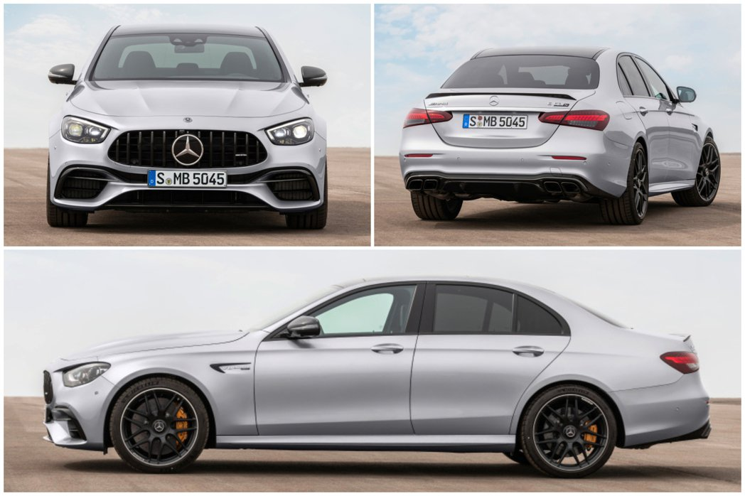 小改款Mercedes-AMG E 63 4MATIC+ Saloon。 摘自M...