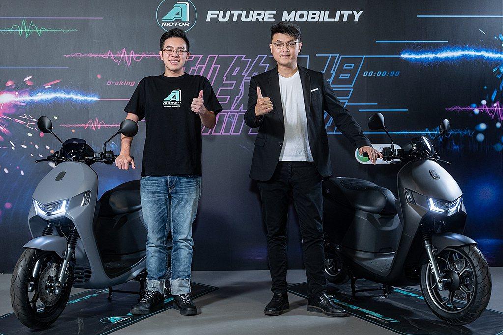 在之前預告後,宏佳騰趕在暑假前推出Ai-1 Sport ABS版。 圖/宏佳騰提...