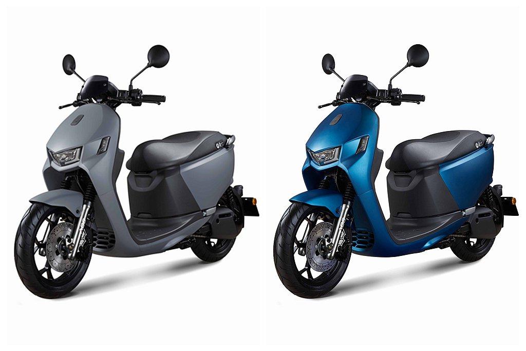 宏佳騰Ai-1 Sport ABS具備黑隱特仕版、孔雀藍與亮岩灰3種車色。 圖/...