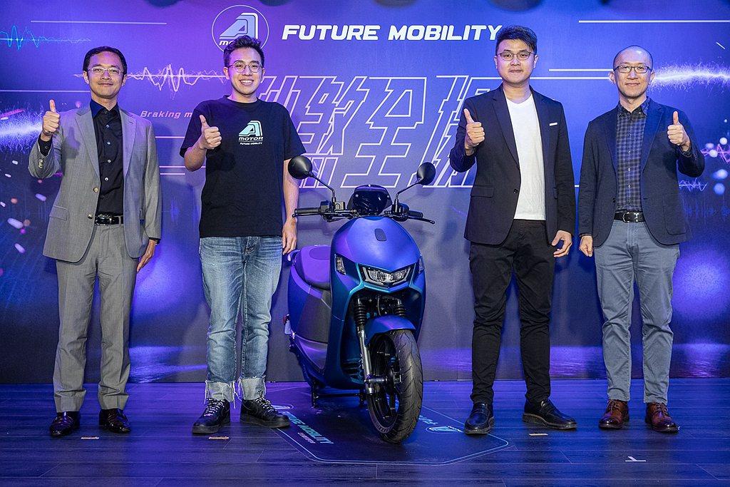 宏佳騰Ai-1 Sport ABS使用Gogoro Network™智慧電池交換...