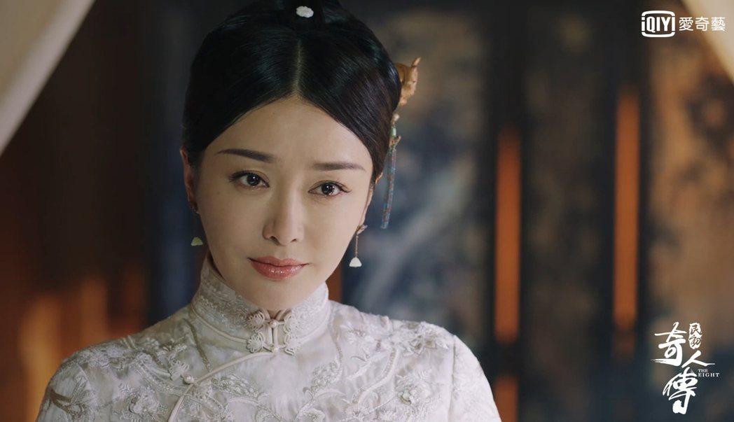 秦嵐飾演商女看似溫婉但身手了得。圖/愛奇藝台灣站提供