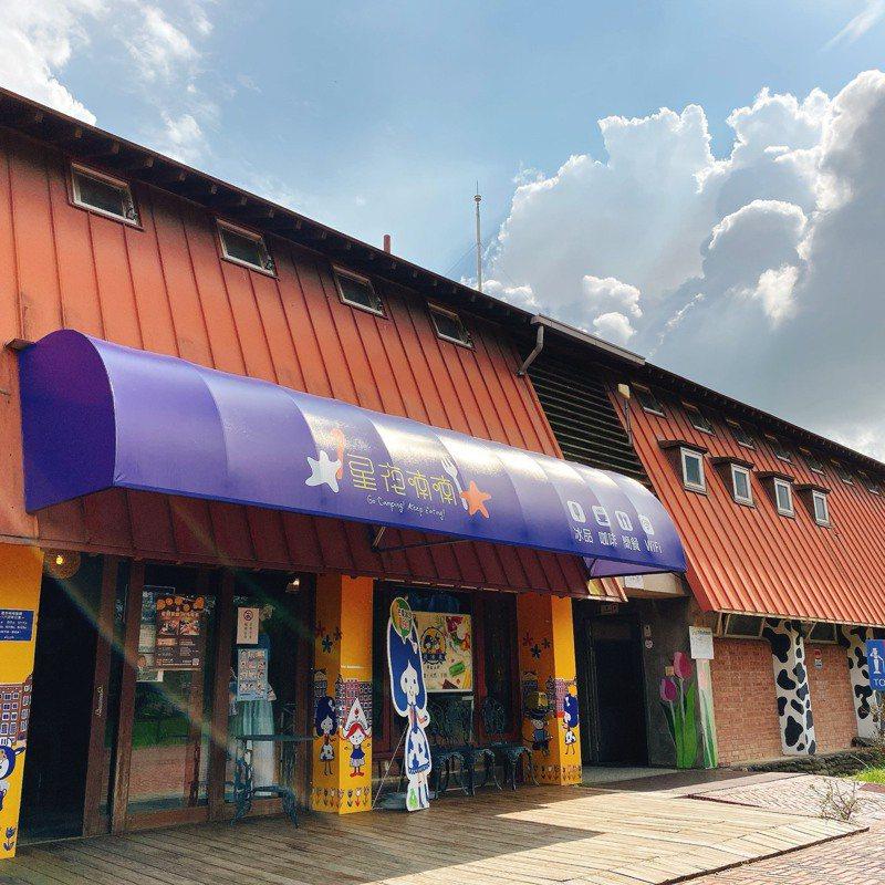 台南市柳營區德元埤內的「星夜喃喃」餐廳。圖/台南市觀旅局提供