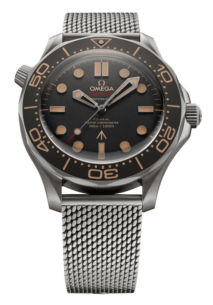 雖然最新一集的007電影還未上映,但OMEGA 007海馬腕錶已經登台,為影迷和...