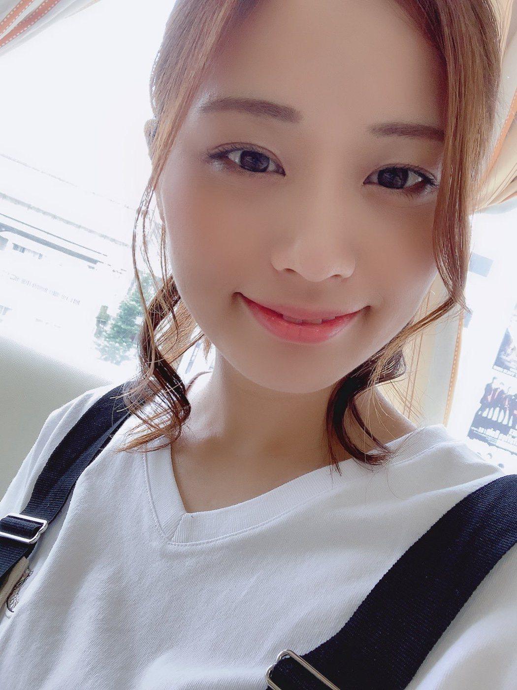 安枝瞳。圖/摘自推特