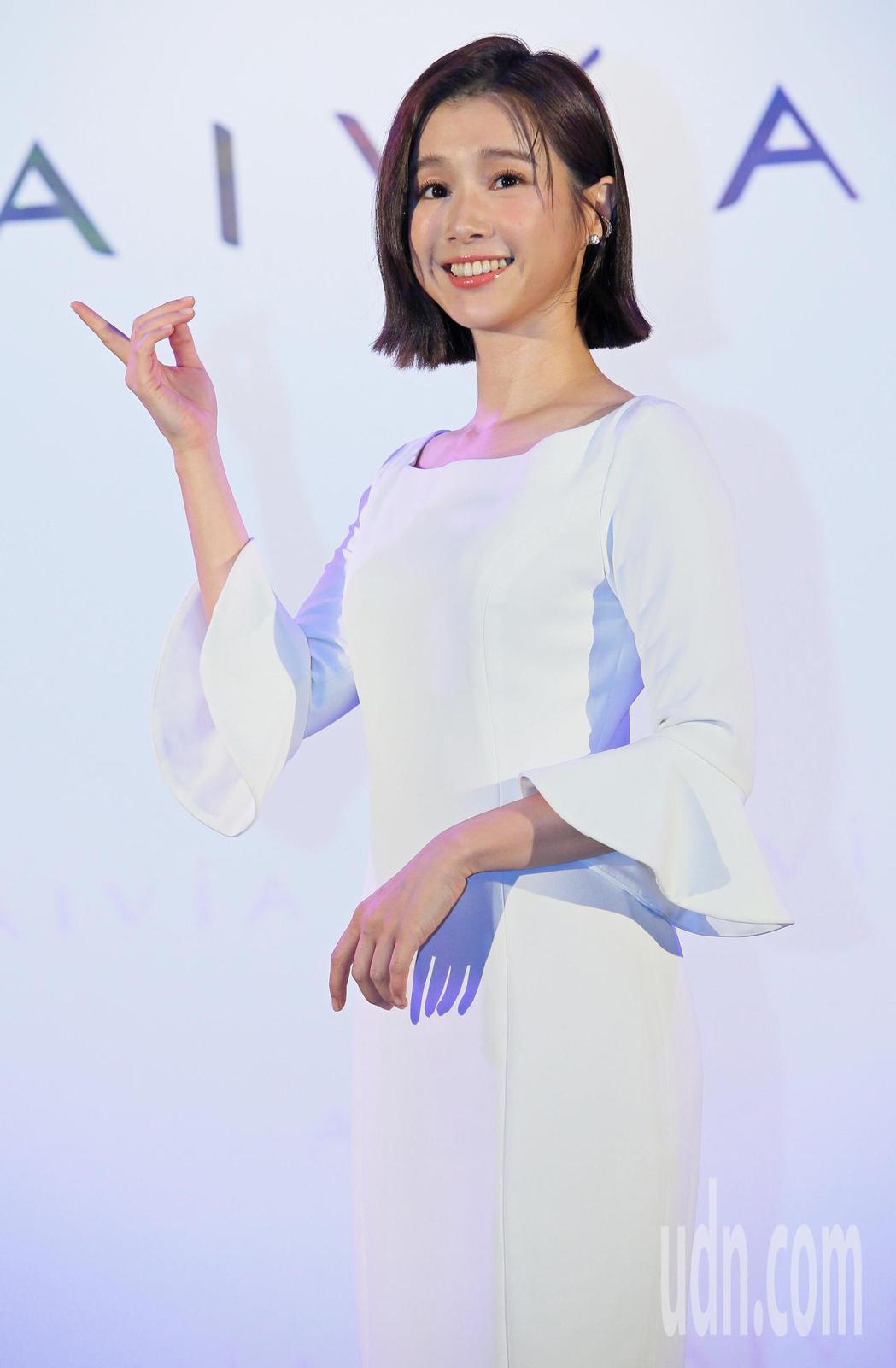 李佳穎為新品代言,希望下半年能在工作上有好的表現。記者潘俊宏/攝影