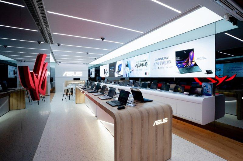 華碩全台首間街邊旗艦店ASUS台北八德旗艦店在光華八德商圈盛大開幕。 圖/華碩提供