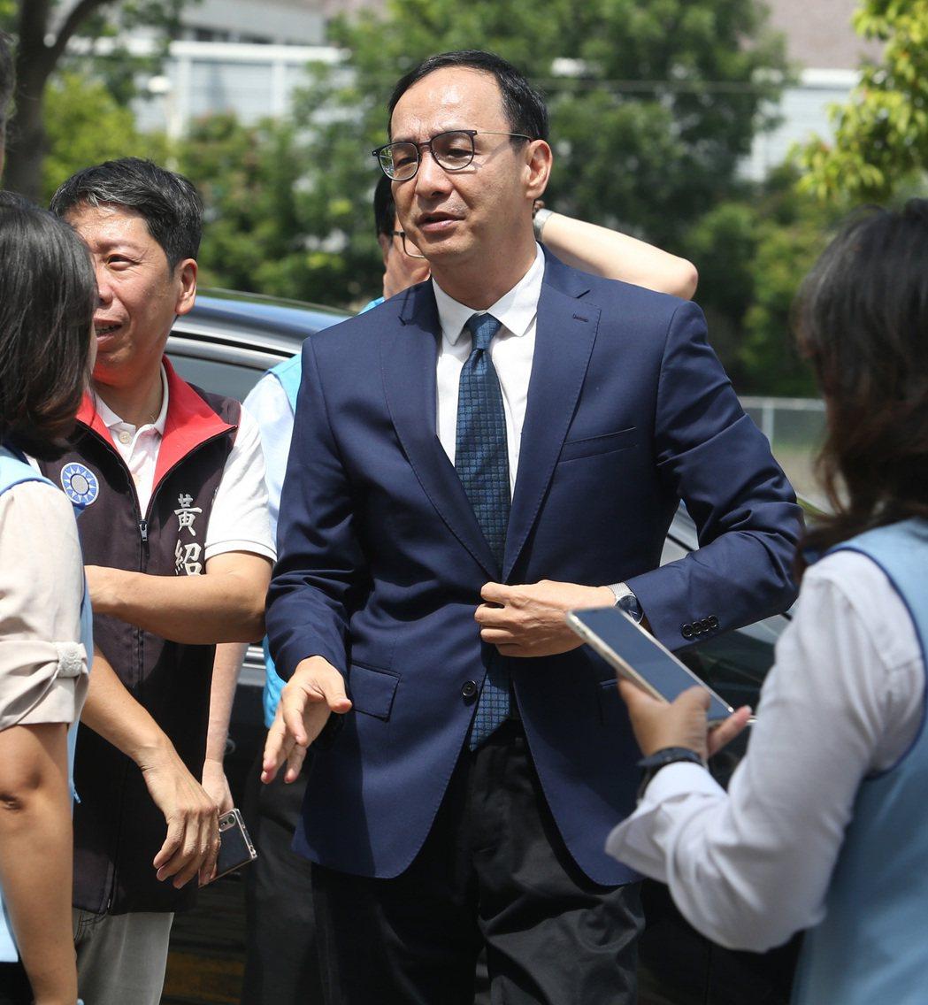 國民黨前主席、前新北市長朱立倫。本報資料照片