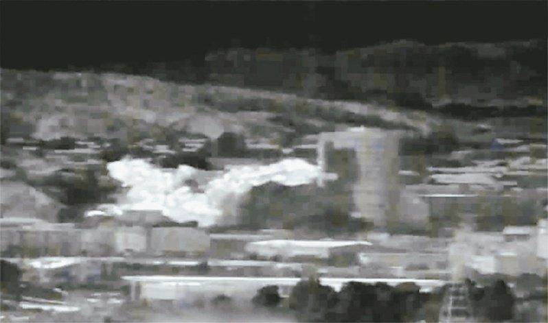 北韓十六日炸毀位於北韓開城工業園區的南北韓聯絡辦公室大樓。 (法新社資料照片)