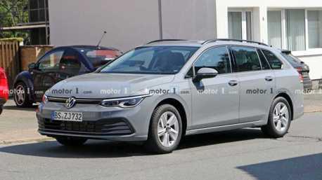 好大膽的新世代Volkswagen Golf Variant 幾乎無偽裝上路蹓躂!