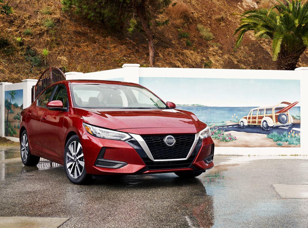 Nissan Sentra (圖為美規車型)。 摘自Nissan