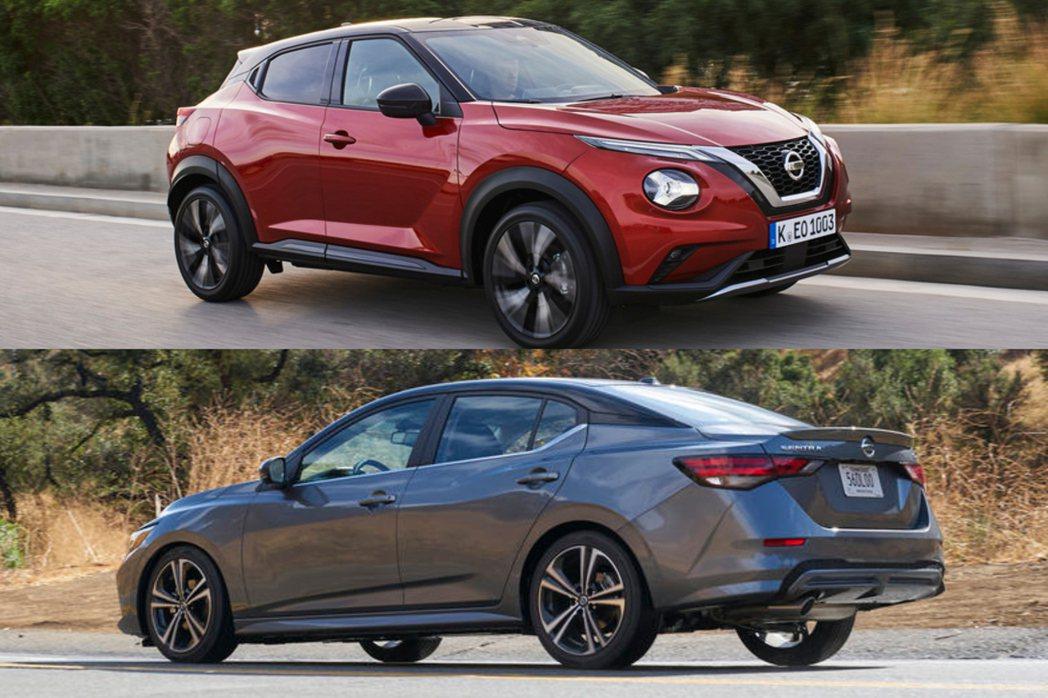 大改款Nissan Sentra與Juke皆確認將於今年下半年導入國內販售。 摘...