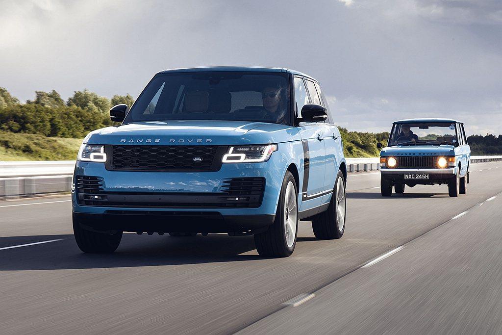 英國豪華越野車廠Land Rover,日前慶賀Range Rover車系問世50...