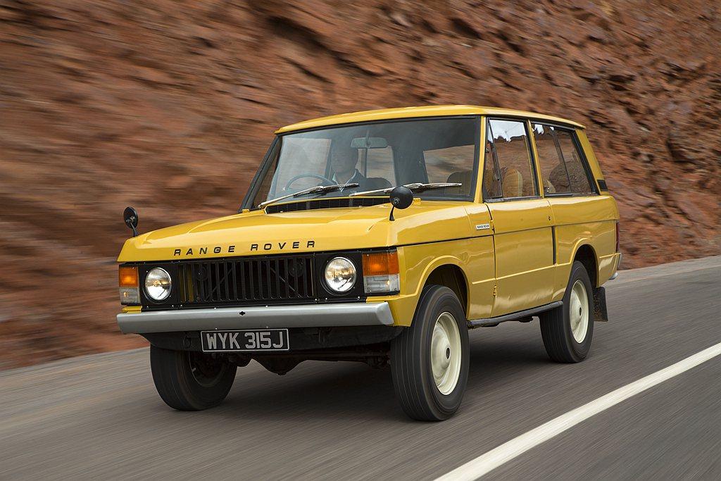 1970年6月17日Land Rover旗下首款豪華休旅Range Rover問...