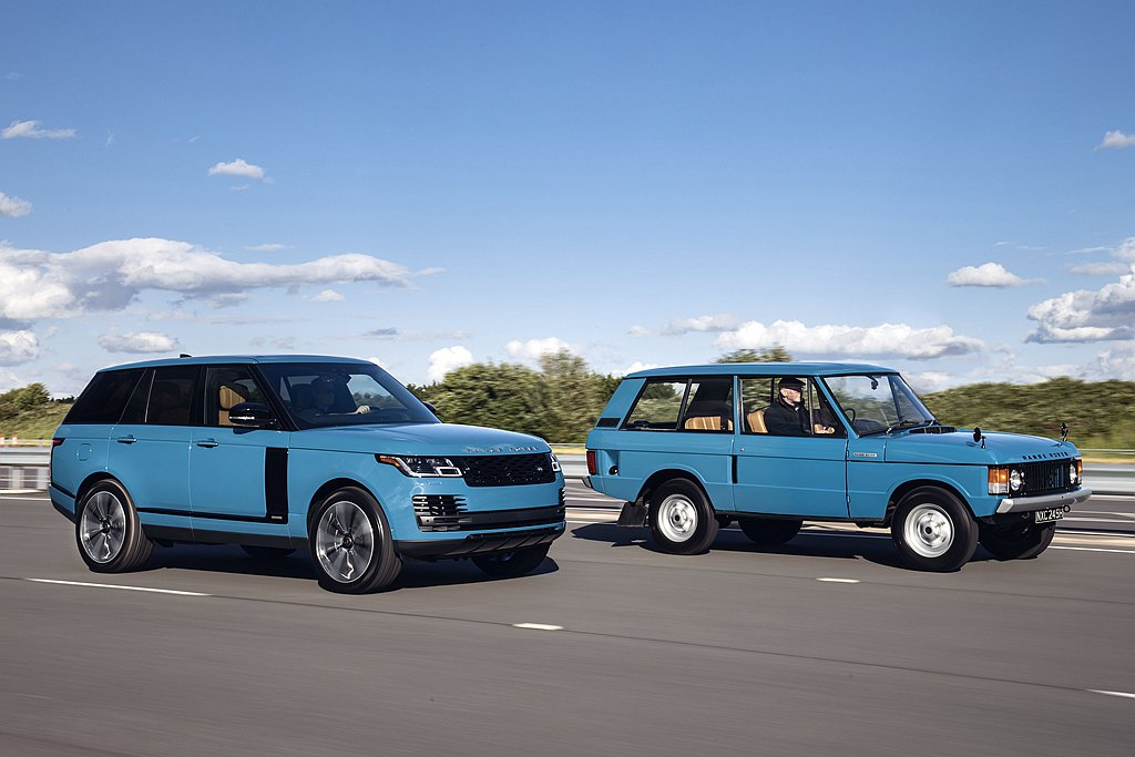 限額生產1,970輛的Land Rover Range Rover Fifty ...
