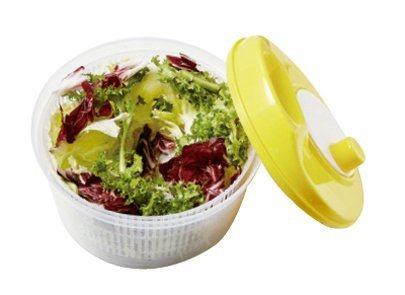 將所有蔬菜分次放入脫水器中旋轉,直到瀝乾水分。 圖/台灣廣廈提供