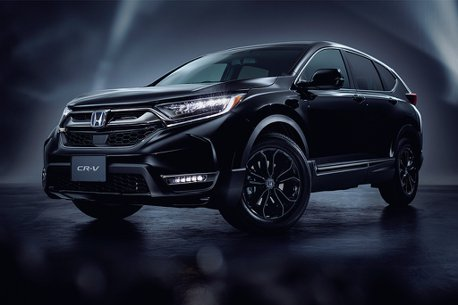 小改款再等等?日規Honda CR-V追加Black Edition頂級車型