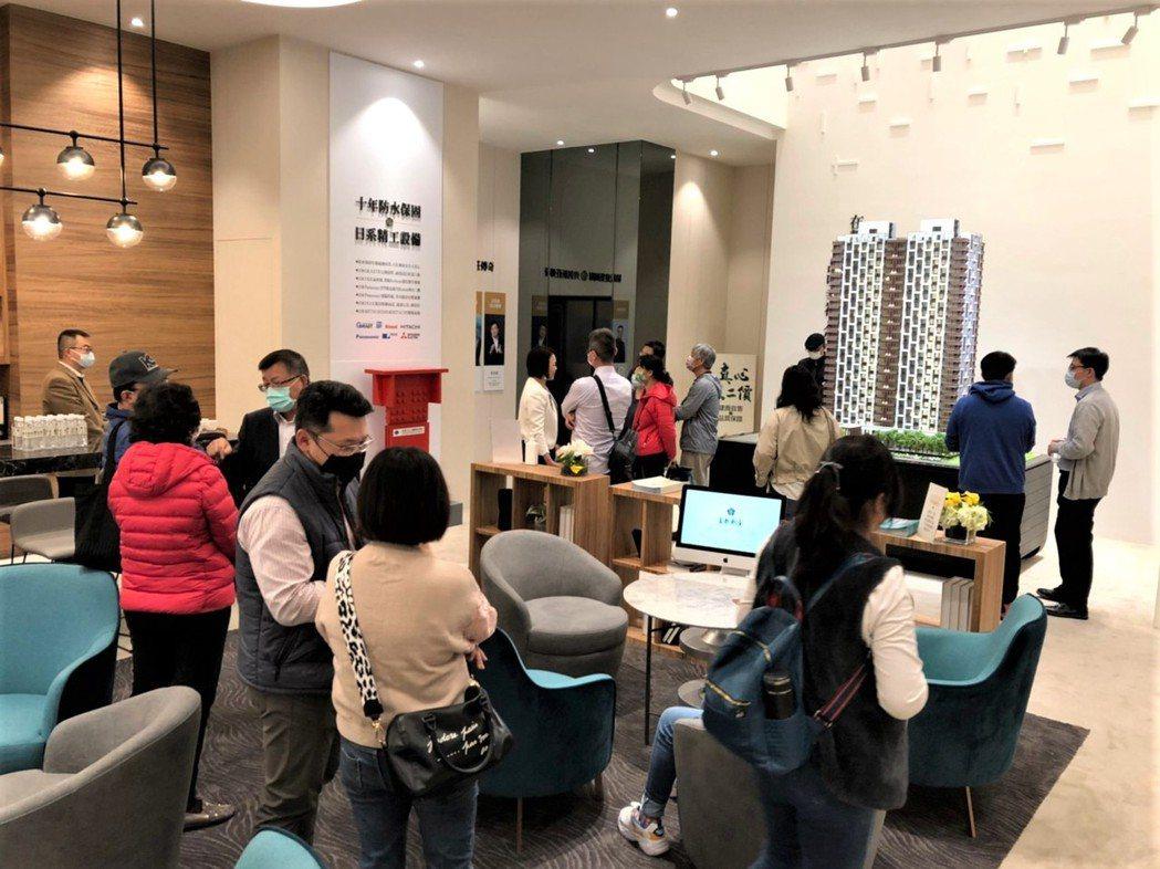 「富都新庄」成交戶多數為台商及自營企業主。圖/倪子仁提供