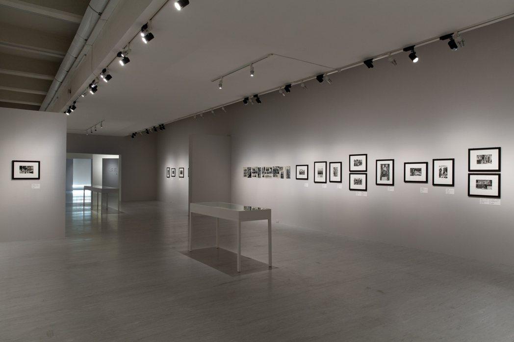 本次展出均為原版照片,布列松基金會遵照布列松遺志,不再沖洗複製。 圖/台北市立美...