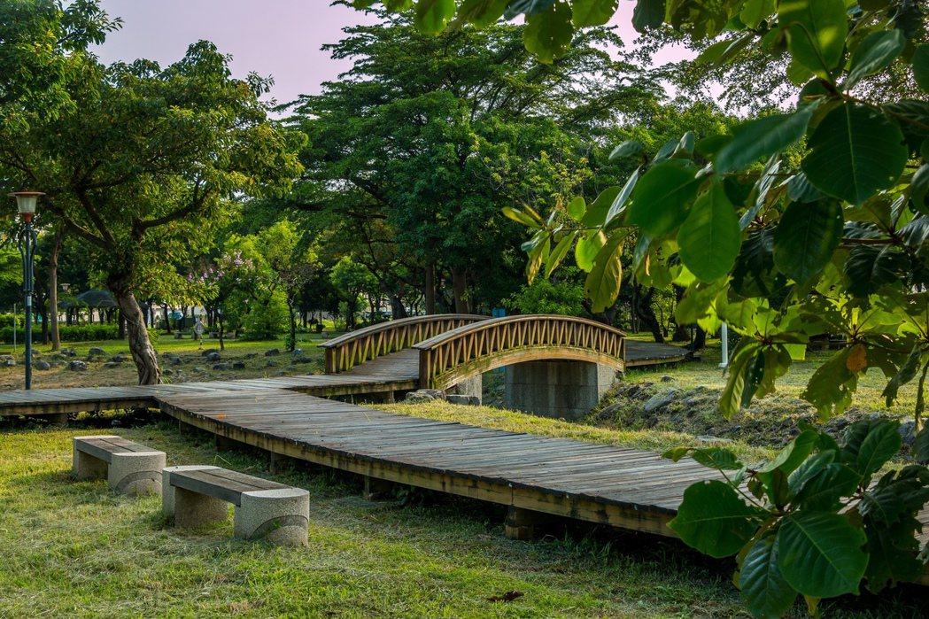 灣北公園。圖片提供/東琳建設