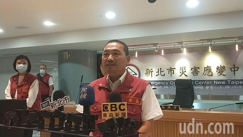 新北市長侯友宜(見圖)指他二哥侯明鋒是醫生,對政治沒興趣。記者犯鴻基/攝影